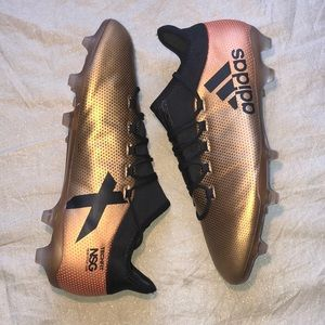 Adidas X 17.2 FG Size 11 Soccer Cleats